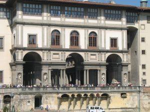 Galería Uffizi 11