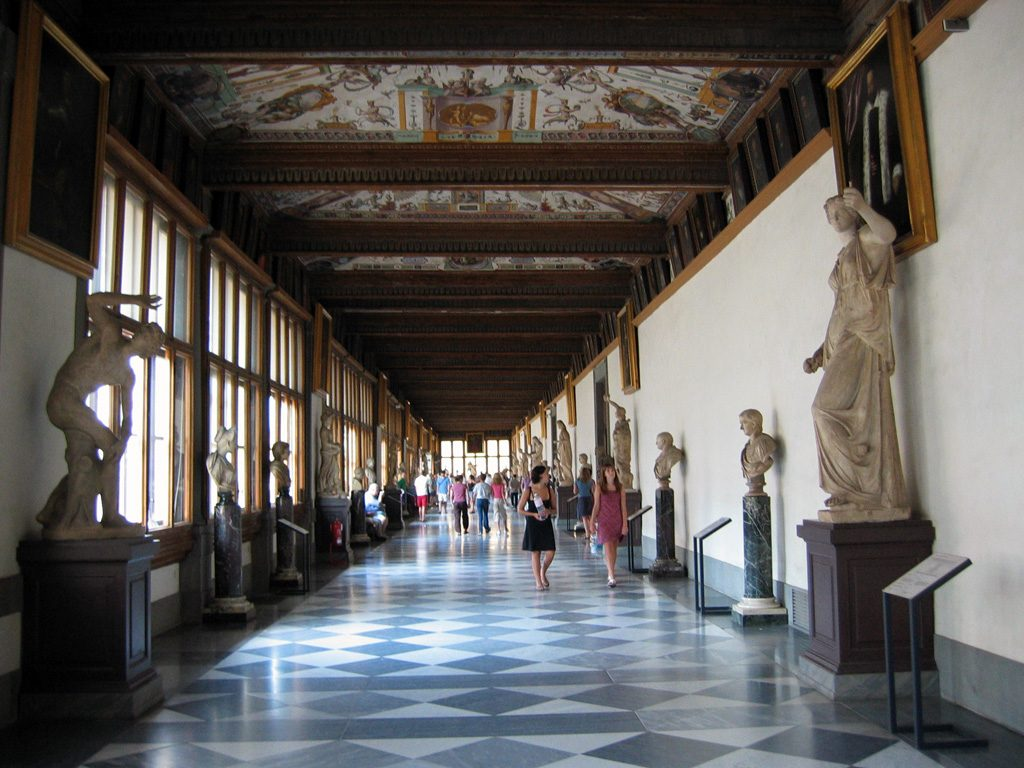 Galería Uffizi 12