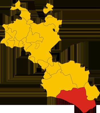 Mapa de Gela