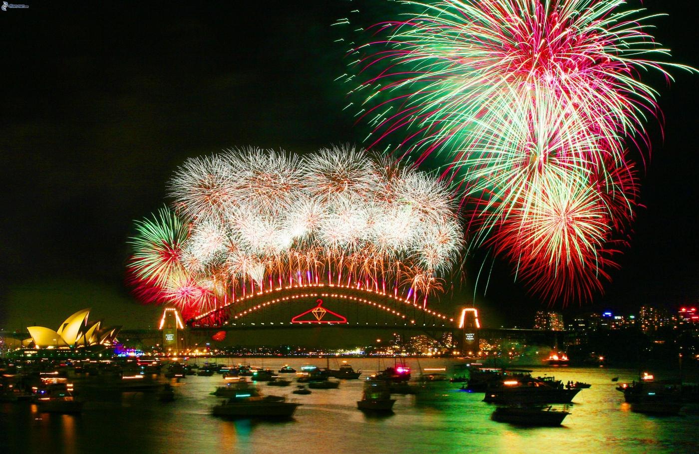 Año nuevo en Sidney