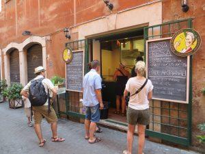 Comer barato en Roma 1