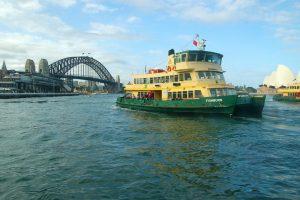 Ferry en Sídney