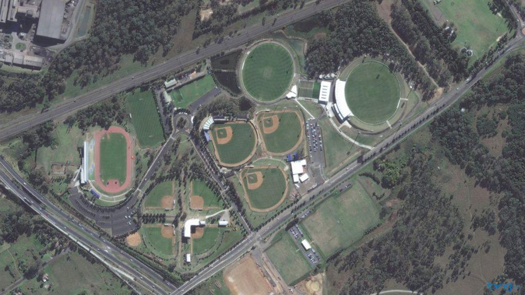 Parque Olímpico de Sídney 1