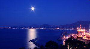 Golfo de Palermo de noche