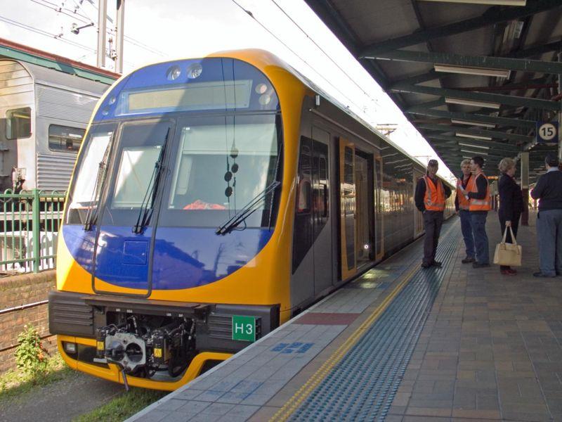 Tren en Sídney