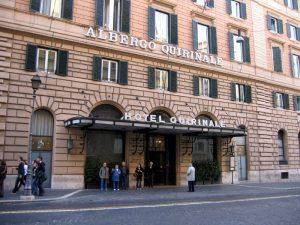 Hotel Quirinale, Roma