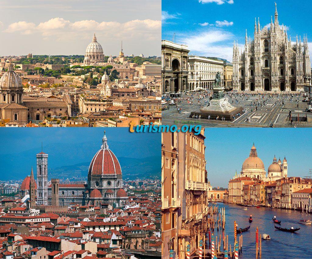 Principales ciudades de Italia