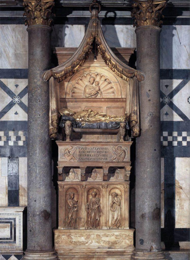 Tumba del antipapa Juan XXIII 1