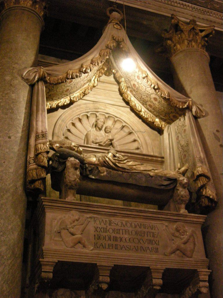 Tumba del antipapa Juan XXIII 3