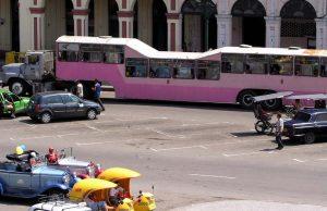 Desplazarse en La Habana
