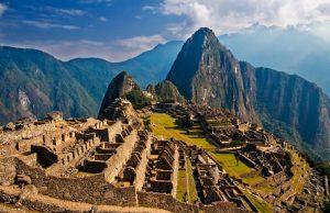 Las ruinas del Machu Picchu, Patrimonio Cultural de la Humanidad
