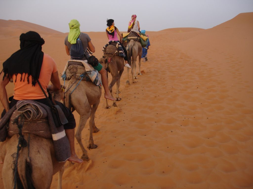 Rutas ecuestres en Marruecos 1
