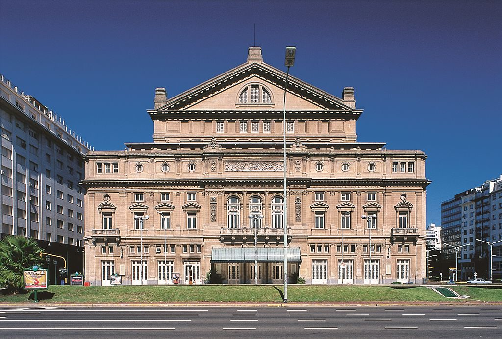 Teatro Colón, uno de los más famosos centros de cultura en Argentina 1
