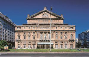 Teatro Colón, uno de los más famosos centros de cultura en Argentina