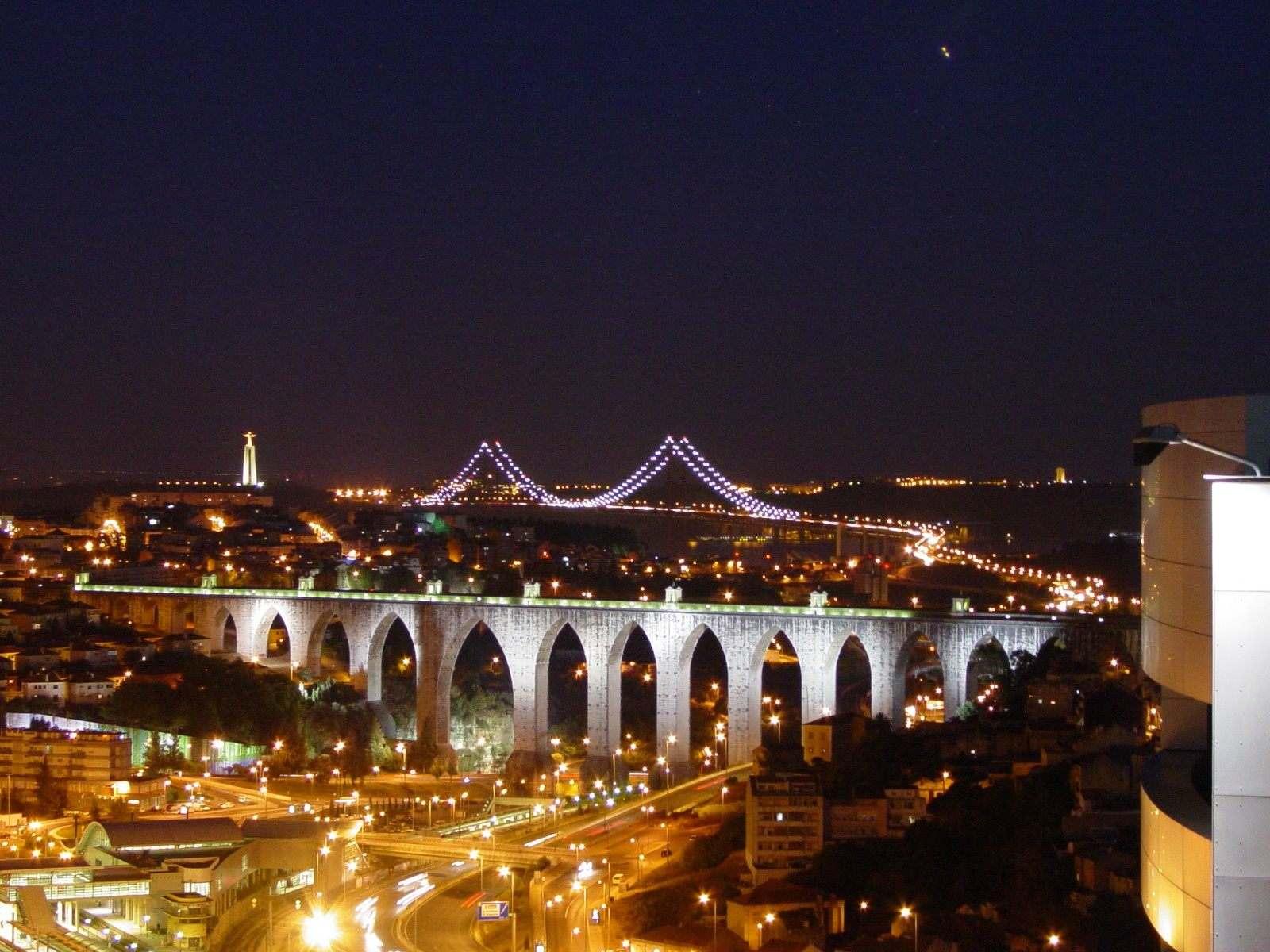 Vida nocturna en Lisboa