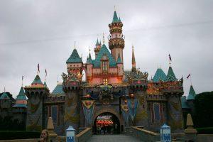 Castillo de la Bella Durmiente, en Disneyland.