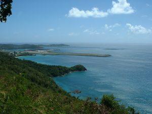 Saint Thomas una de las cuatro Islas vírgenes de Estados Unidos.