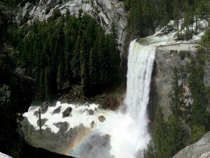 Parque Nacional de Yosemite, ubicada al Este de San Francisco.