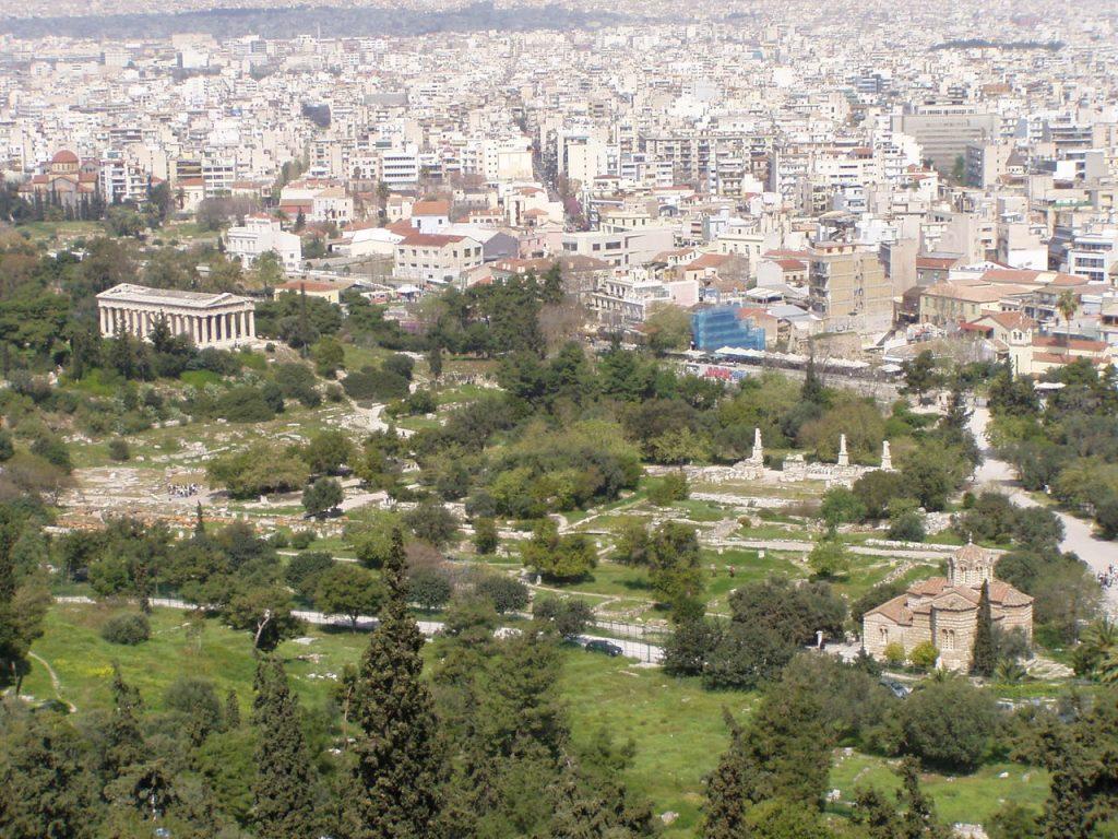 Ágora-griega-de-Atenas