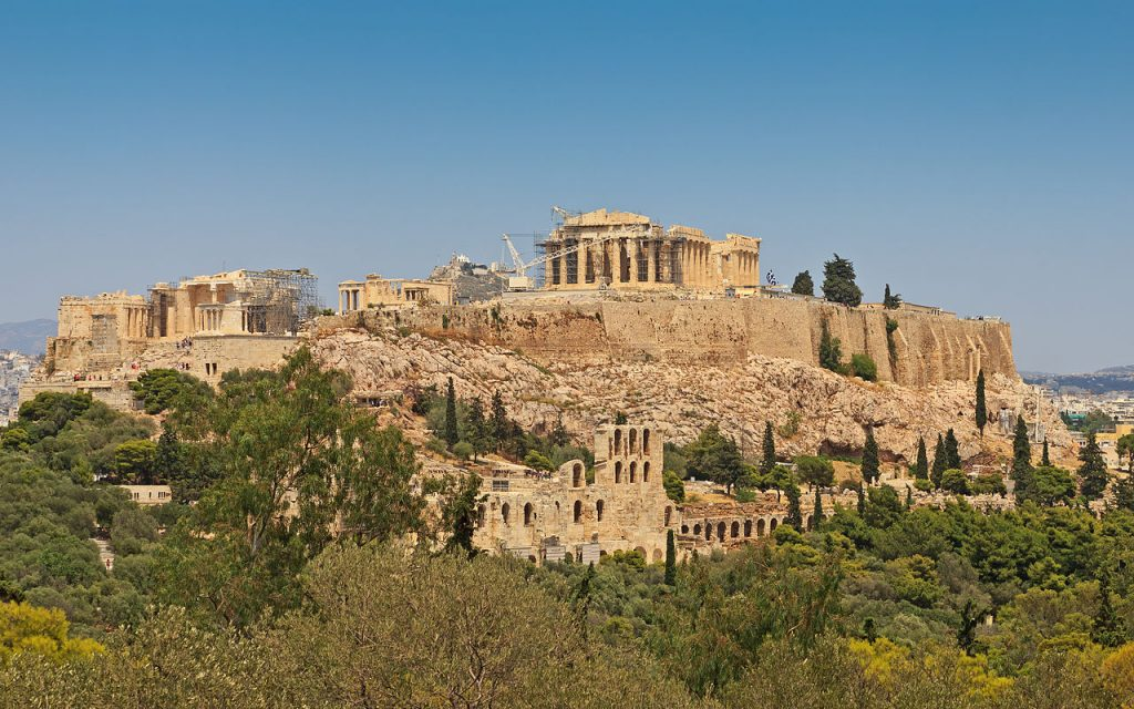 Acŕopolis-de-Atenas