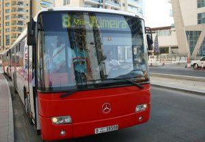 Autobuses en Dubái.