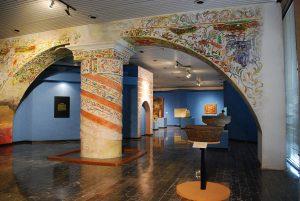 Sección dedicada a la historia colonial del estado, en el Museo Regional de Antropología e Historia de Chiapas.