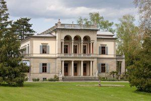 El Wesendonck Villa, edificio principal del Museum Rietberg.