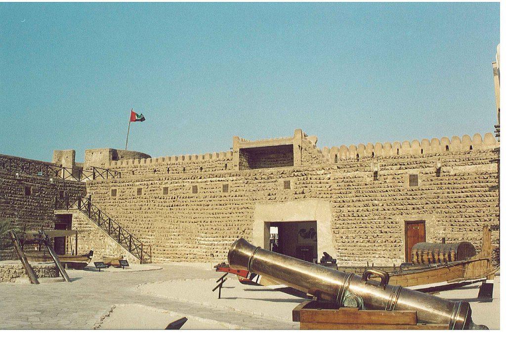 Patio-en-Al_Fahidi-en-el-museo-de-Dubai