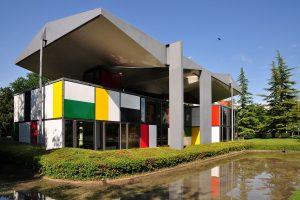 Pavillon Le Corbusier en Zúrich.