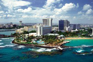 Visión panorámica de Puerto Rico.
