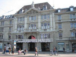 Schauspielhaus Zürich.