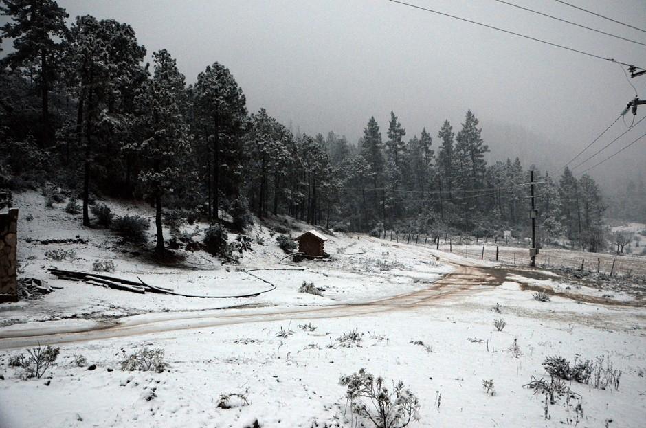 Sierra de Arteaga – Coahuila en Invierno.