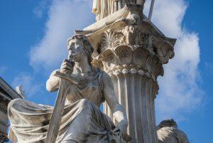 Teogonías: Atenea, historia de Grecia Antigua.