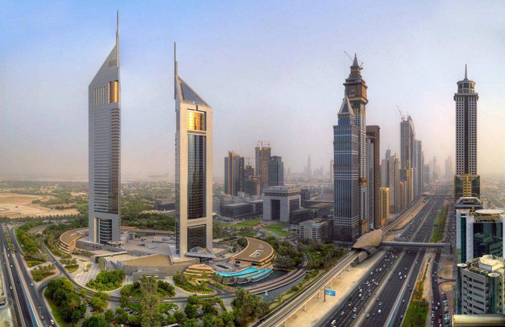 Torres-Emiratos-Dubái