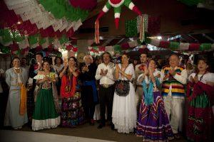 Celebraciones por el Día de la independencia de México.