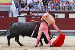 Corrida de toros en Madrid.