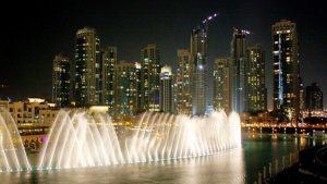 La Fuente de Dubái es la más grande del mundo.