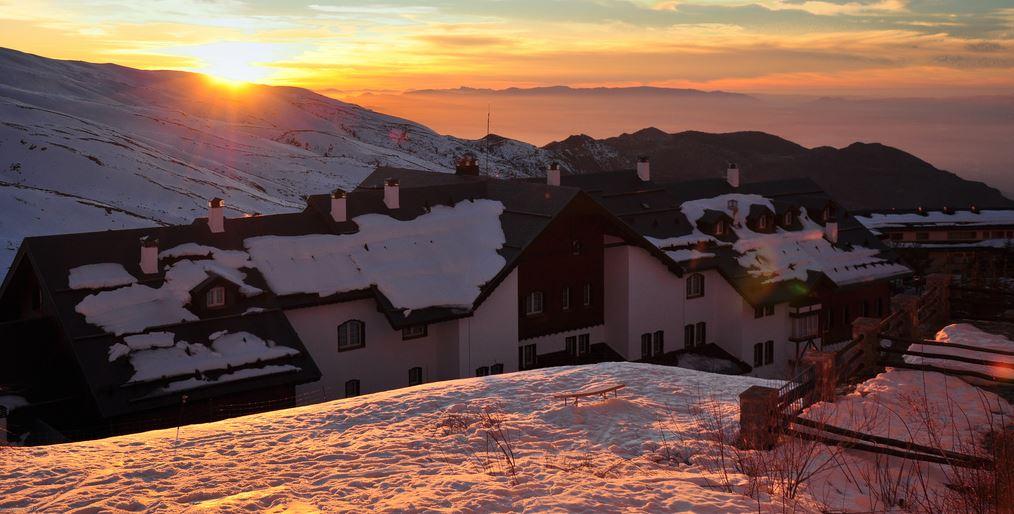 Hoteles en invierno España.