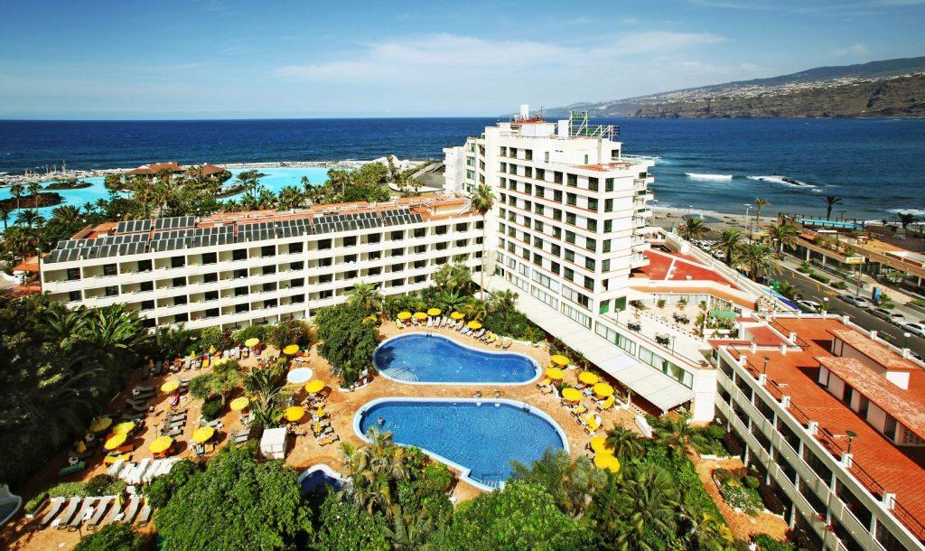 Hoteles españoles en verano.