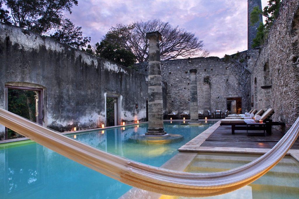 Hoteles en México durante la temporada de otoño.