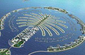 Islas Palmeras en Dubái.