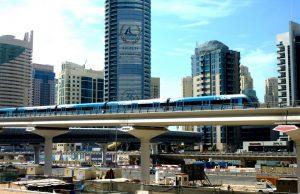 Tranvía en Dubái.