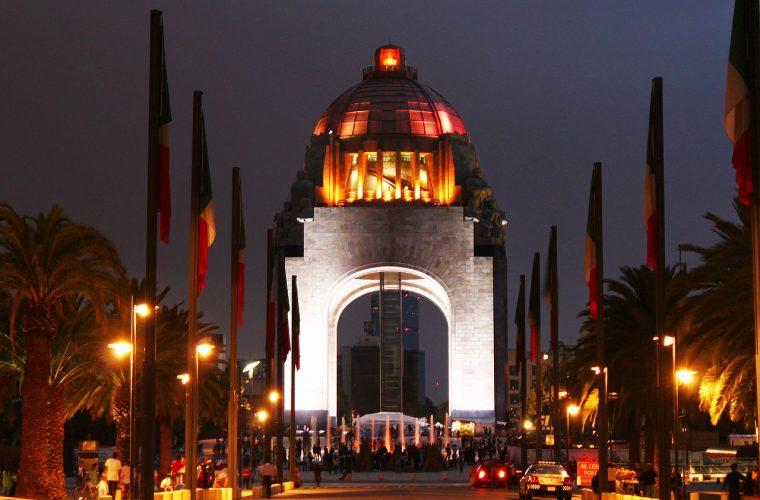 Monumento a la Revolución.