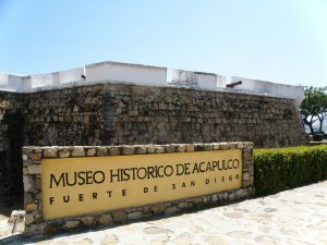 Museo Local Histórico de Acapulco Fuerte de San Diego.