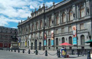 Museo Nacional de arte en México.