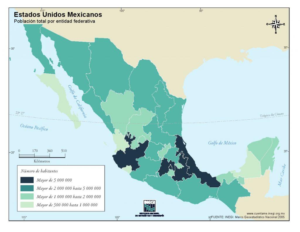Mapa-de-poblacion-de-Mexico