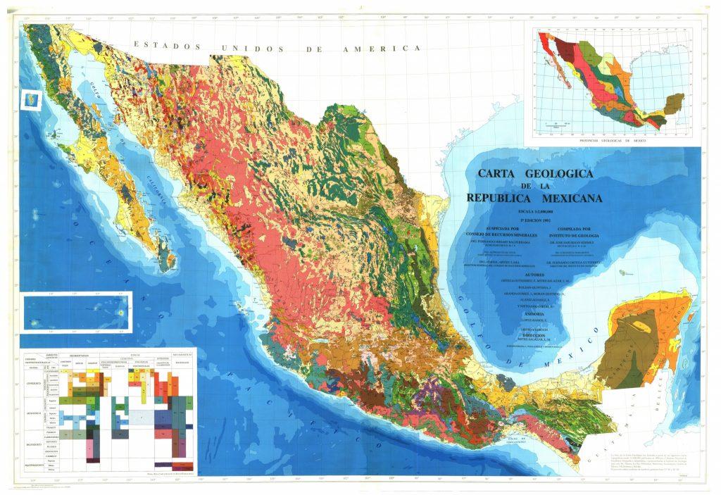 Mapa De México Turismoorg