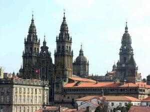 Vista general la Catedral de Santiago