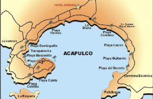 Mapa de Acapulco