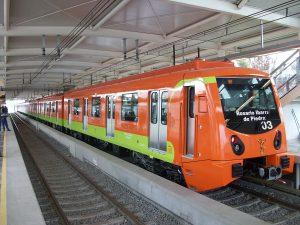 El incomparable Metro de la Ciudad de México.